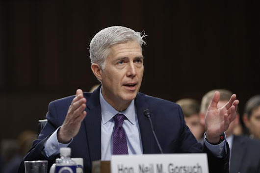 Gorsuch: I Accept Roe v. Wade as 'the Law of the Land'