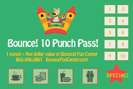 Bounce 10 Punch Pass