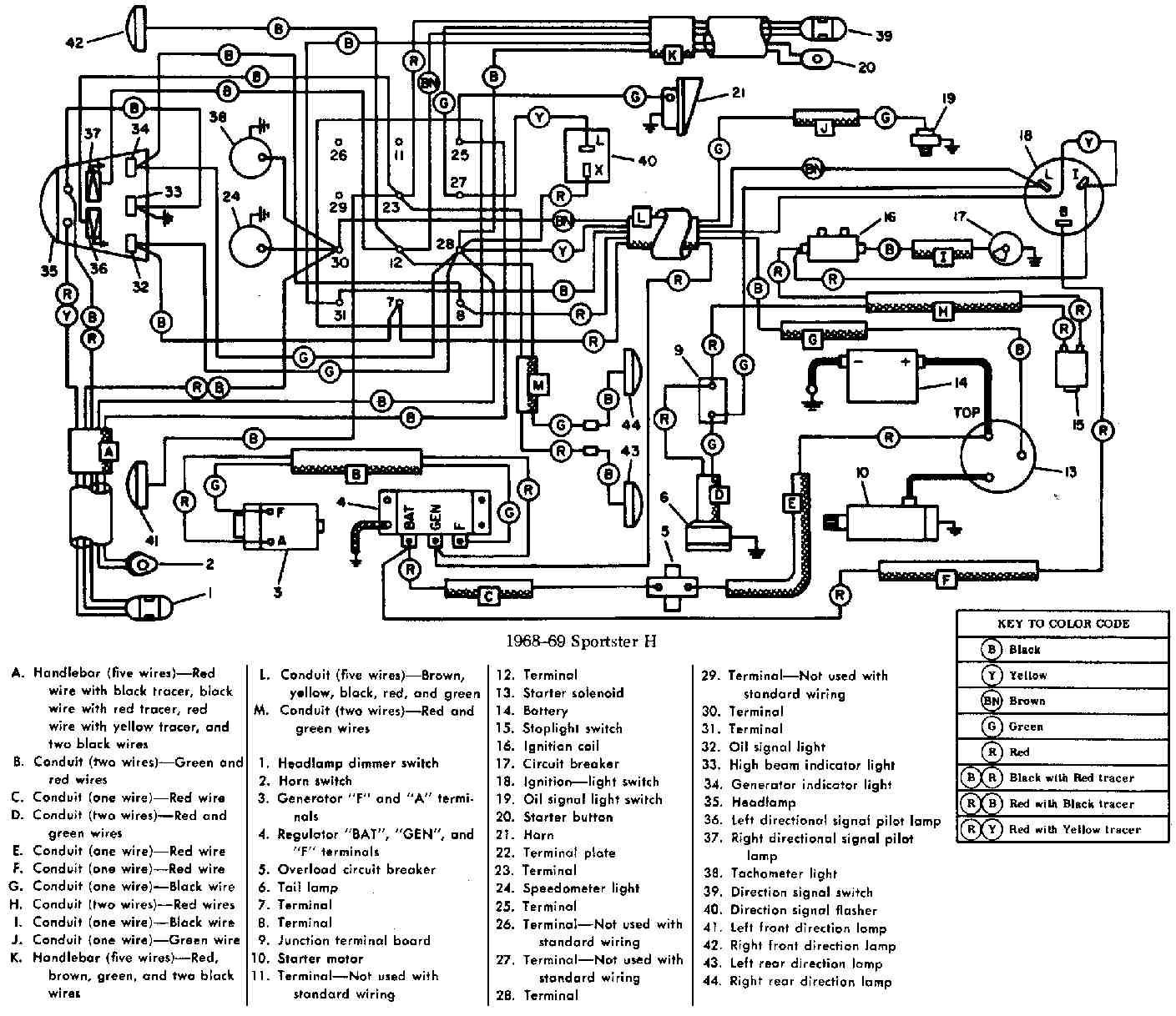 75 Flh Wiring Diagram