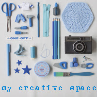 I share my creative space on Village Voices
