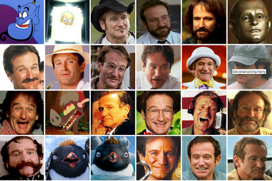 The many faces of Robin Williams