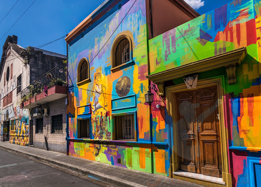 Graffiti Tour Buenos Aires in Palermo - Monday to Friday 3pm. No Booking