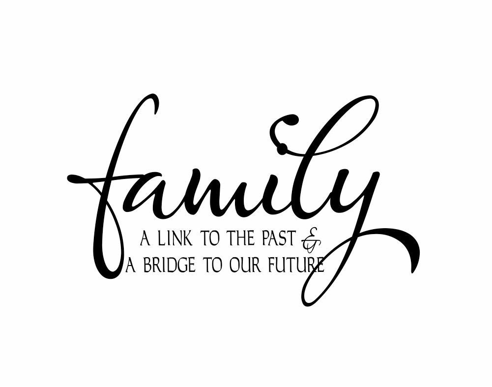 Popular items for family wall decals on Etsy
