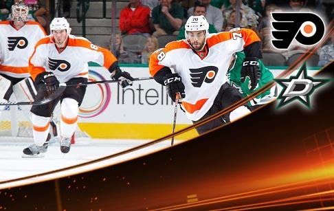 FIVE THINGS: Flyers vs. Dallas Stars