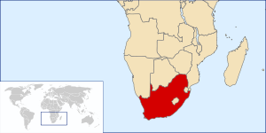 South Africa Location.