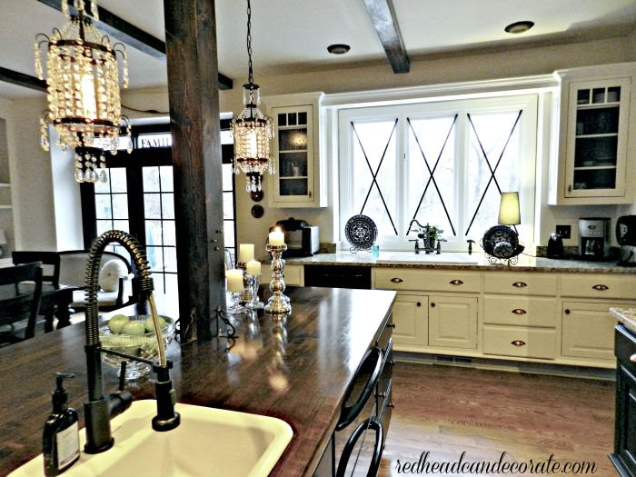 Kitchen by redheadcandecorate.com