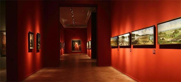Sala do Museu Nacional de Belas Artes (Foto: MNBA/Divulgação)