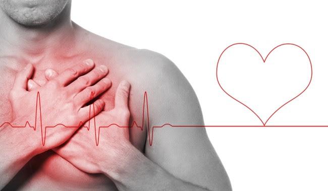 Guy has heart attack