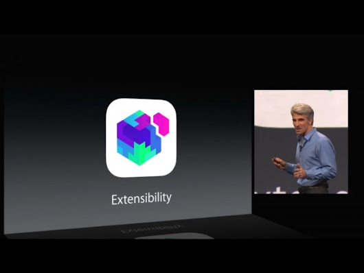 Explaining iOS 8's extensions: Opening the platform while keeping it secure