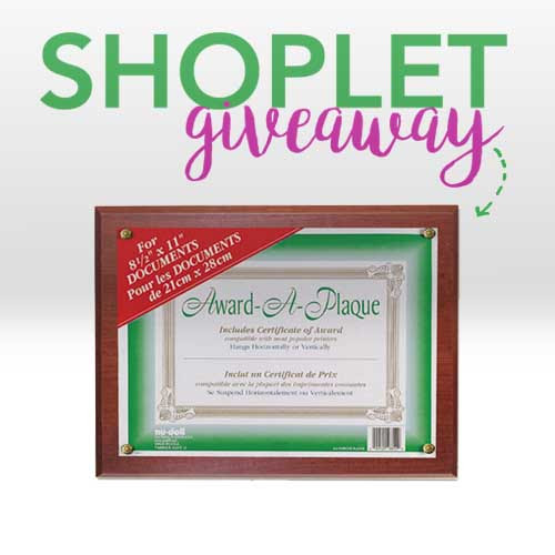 Win a Nu-Dell Award Plaque For Your Recent Grad! | Shoplet