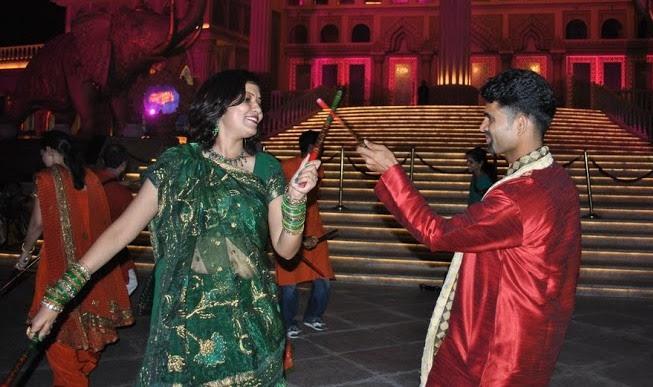 Kaynat Kazi -Garba in Navratri festival Gujarat