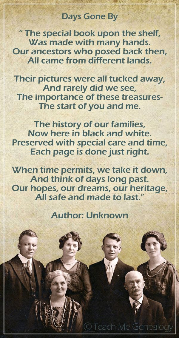 'When time permits, we take it down and think of days long past. Our hopes, our dreams, our heritage, all safe and made to last.' ~ This is the true reason we craft our heritage scrapbooks...to celebrate our past and hold on to precious family memories for the future!