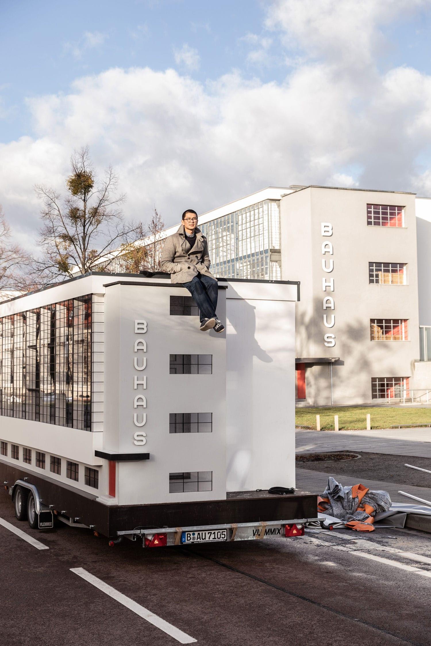 Bauhaus Bus On World Tour In Honour Of The Schools Centennial