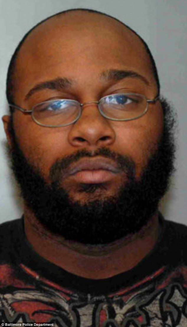 Sentenced: Deverey Hasani-Jarod Kelley (above) was sentenced to five years in prison for carjacking a woman who was in labor and on her way to the hospital in Annapolis on March 2, 2014