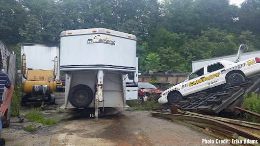 Trailer Stolen From TIEC Discovered In Asheville N.C.