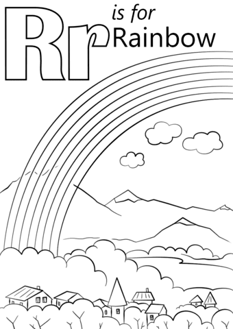 620 Free Printable Coloring Pages Rainbow Free