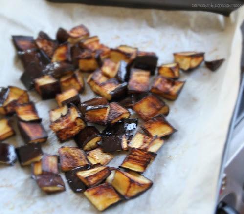 Roasted Eggplant, Mango & Soba Noodle Salad 5