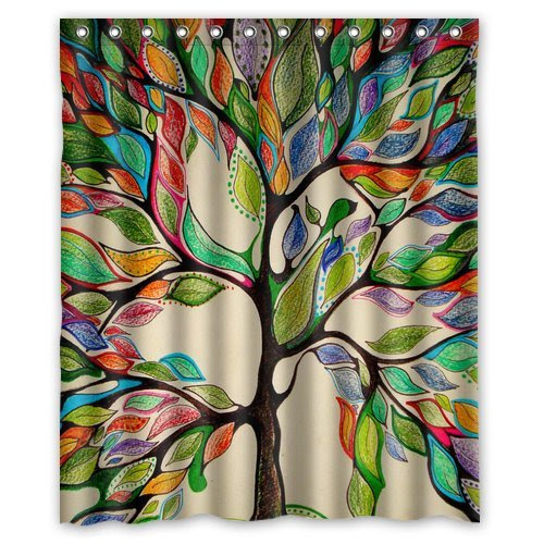 TREE OF LIFE SHOWER CURTAINS