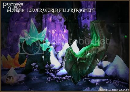 Postcards of Azeroth: Lower World Pillar Fragment, by Rioriel Ail'thera of theshatar.eu