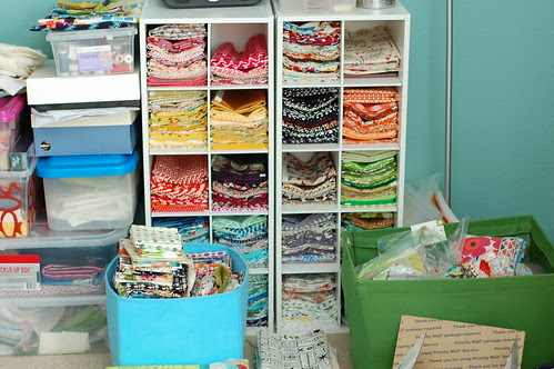 Organizing - half yards