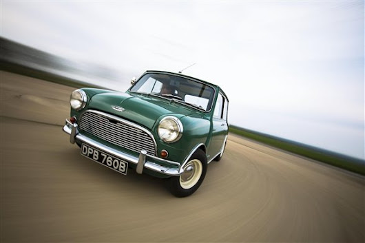 Original MINI voted best British car of all time