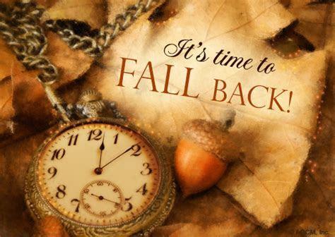 """Daylight Savings Fall Back 11/4/18""   Holidays eCard"