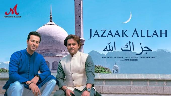 जज़ाक अल्लाह Jazaak Allah Song Hindi Lyrics- Javed