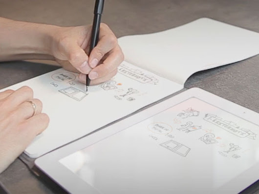 iSketchnote: from pen and paper to your iPad!