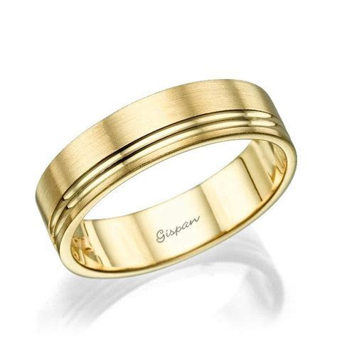 Mens Wedding Band, Wedding Ring, 14k Gold Ring, Mens