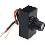 Amertac 758ctc-4 Outdoor Wire-in Dusk To Dawn Post Eye Light Control, 1800 Watt