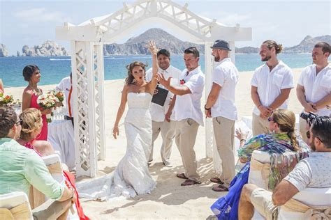 jamie & adam ? riu palace, cabo san lucas   beach wedding