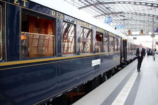 Taking the Venice Simplon Orient Express from London to Berlin