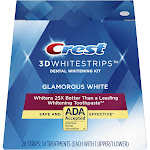 Crest 3D Whitestrips Glamorous Kit, 14 Treatment