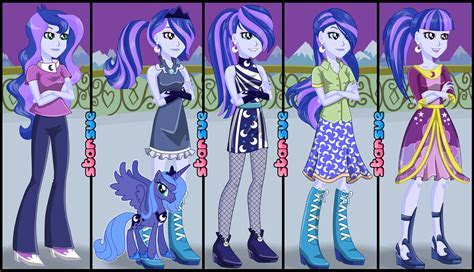 My Little Pony Equestria Girls Vice Principal Luna Dress