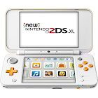 New Nintendo New 2DS XL - White/Orange