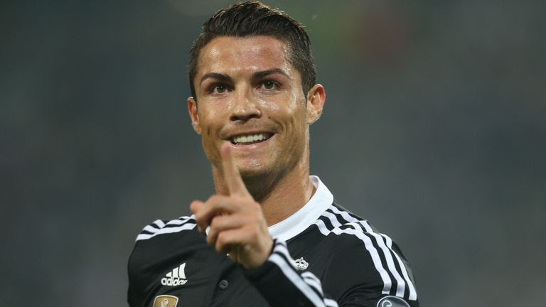Cristiano Ronaldo insists he is 'happy at the best club in the world'