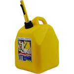 Scepter 00004 Yellow 5 Gallon Diesel Fuel Gas Storage Tank Container Jerry Can by VM Express