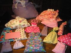 Sophia's Birthday - Fabric Gift Bags