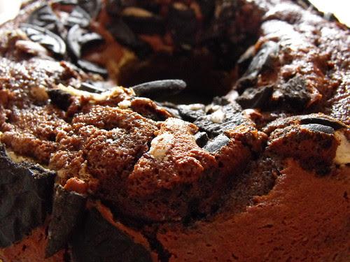 Preparado para bolo de chocolate (Branca de neve) com Oreos