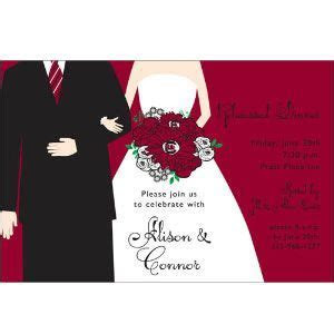 Garnet and black wedding invitations!   Gamecock Wedding