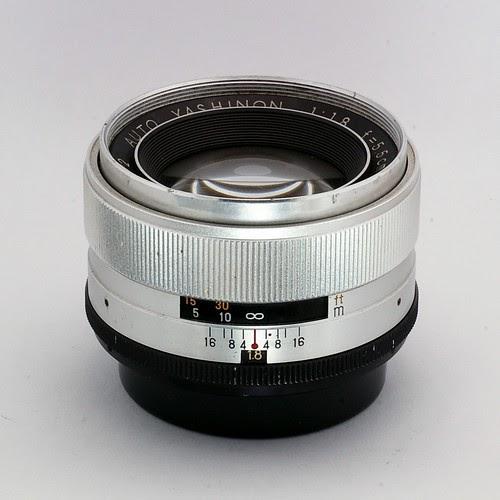 Standard Lens Collection. : AUTO YASHINON 1:1.8 F=5.5cm YASHICA JAPAN