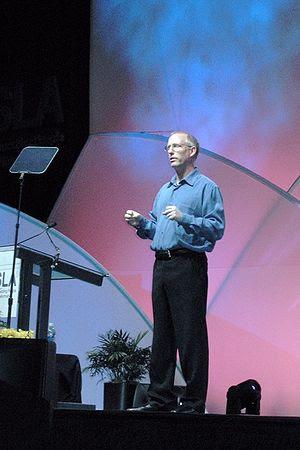 Scott Adams, MBA 1986, creator of the comic st...
