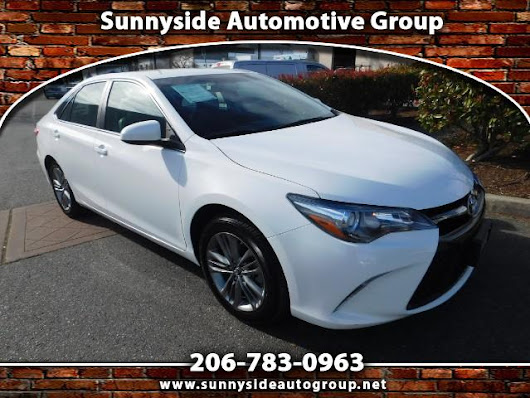 Used 2016 Toyota Camry SE for Sale in Seattle WA 98133 Sunnyside Automotive Group