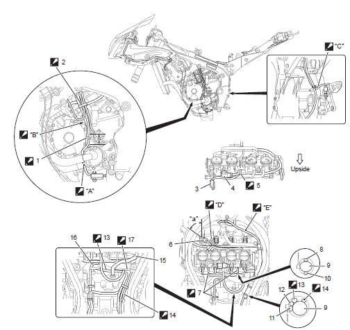 Suzuki Gsx R 1000 Service Manual Wiring Harness Routing Diagram Schematic And Routing Diagram Wiring Systems Body And Accessories