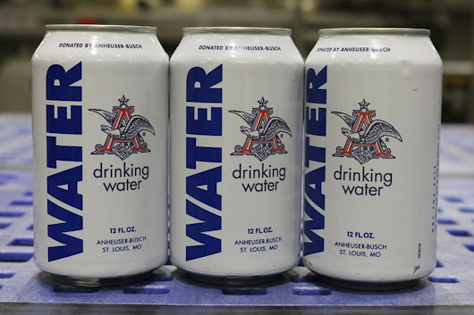Anheuser-Busch Halts Beer Production to Provide Water for Texas, Oklahoma Storm Victims