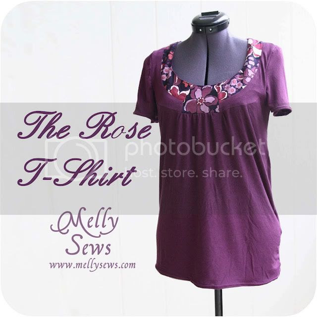 Rose T-Shirt by Melly Sews