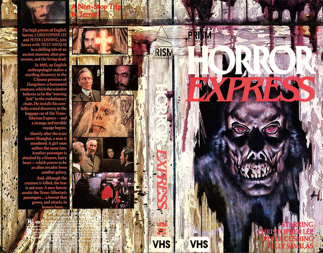 Horror Express (VHS Box Art)