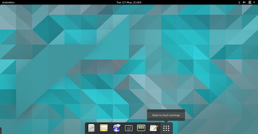 Dash to Dock - An Enhanced Dock for the GNOME Shell
