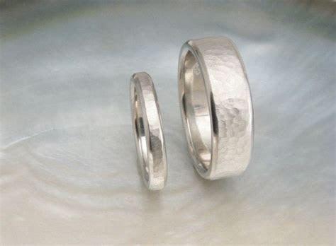 Comfort fit platinum wedding band set    7mm and 3mm
