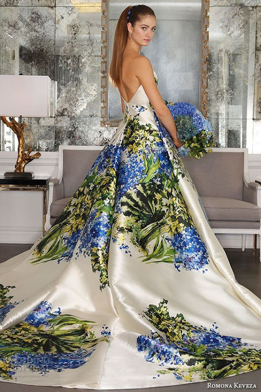 Multi-Colored Wedding Gowns with Tons of Personality: Part 3 | Wedding Attire | IDoTakeTwo.com